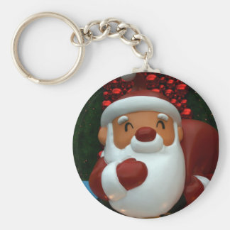 Taiwanese Father Christmas Key Ring