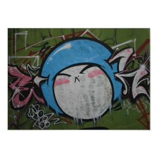 Taiwanese graffiti, Taipei, Taiwan Custom Invitations