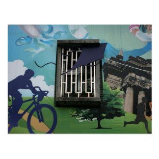 Taiwanese graffiti Taipei Taiwan Postcards