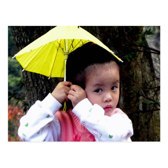 Taiwanese Little Girl Postcard