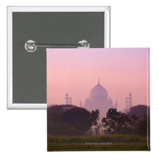 Taj Mahal 2 15 Cm Square Badge