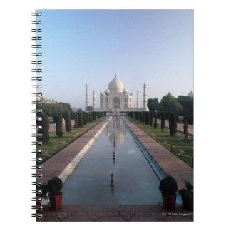 Taj Mahal 7 Spiral Notebook