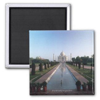 Taj Mahal 7 Square Magnet