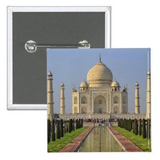 Taj Mahal, a mausoleum located in Agra, India, 2 Button