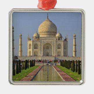 Taj Mahal, a mausoleum located in Agra, India, 2 Christmas Ornament