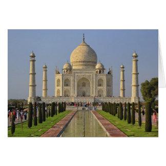 Taj Mahal, a mausoleum located in Agra, India, 2 Greeting Card