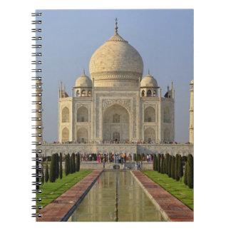 Taj Mahal, a mausoleum located in Agra, India, 2 Notebook