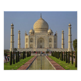 Taj Mahal, a mausoleum located in Agra, India, 2 Poster