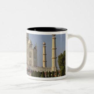 Taj Mahal, a mausoleum located in Agra, India, 2 Two-Tone Mug