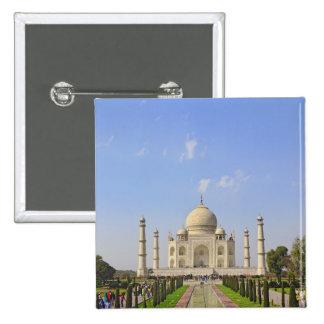 Taj Mahal, a mausoleum located in Agra, India, Button