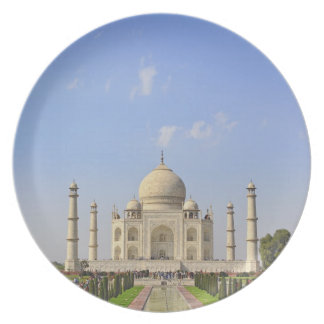 Taj Mahal, a mausoleum located in Agra, India, Dinner Plates