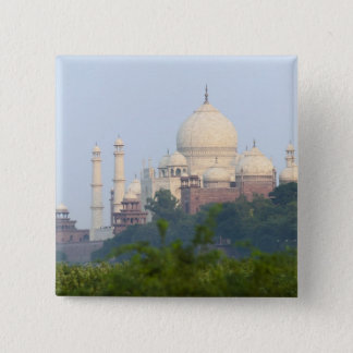 Taj Mahal, Agra, India 15 Cm Square Badge