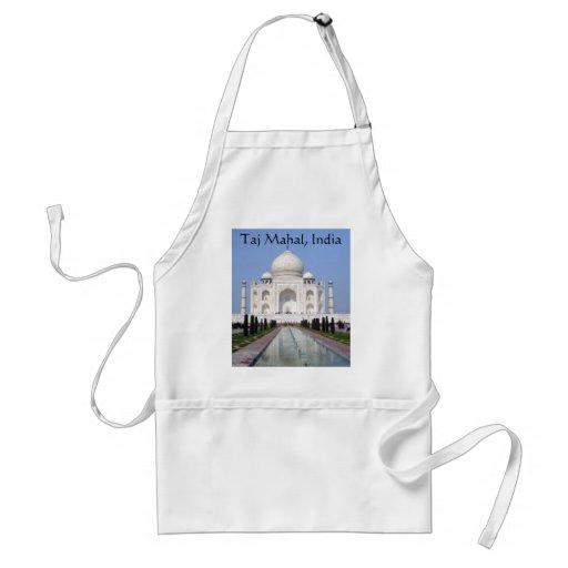 Taj Mahal, Agra, India Adult Apron