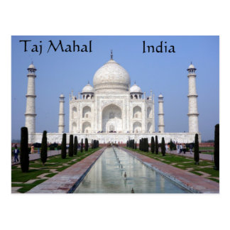 Taj Mahal, Agra, India Postcard