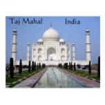 Taj Mahal, Agra, India Postcards
