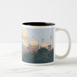 Taj Mahal, Agra, India Two-Tone Coffee Mug