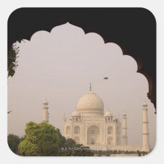 Taj Mahal, Agra, Uttar Pradesh, India 2 Square Sticker