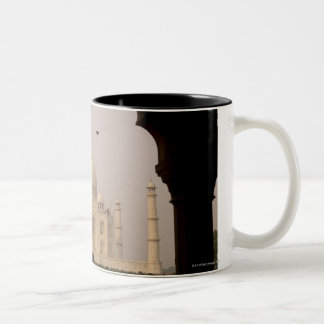 Taj Mahal, Agra, Uttar Pradesh, India 2 Two-Tone Coffee Mug
