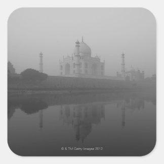 Taj Mahal, Agra, Uttar Pradesh, India 3 Square Sticker