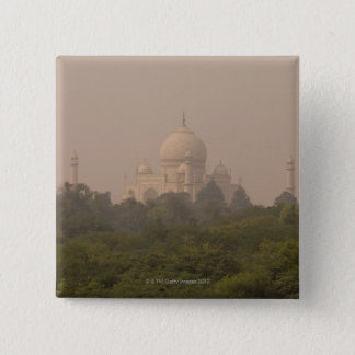 Taj Mahal, Agra, Uttar Pradesh, India 4 15 Cm Square Badge