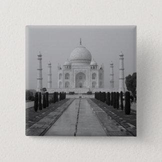 Taj Mahal, Agra, Uttar Pradesh, India 5 15 Cm Square Badge