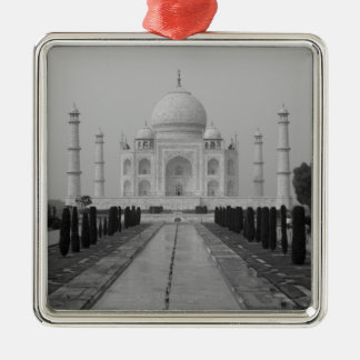 Taj Mahal, Agra, Uttar Pradesh, India 5 Christmas Ornament