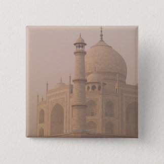 Taj Mahal, Agra, Uttar Pradesh, India 6 15 Cm Square Badge
