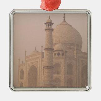 Taj Mahal, Agra, Uttar Pradesh, India 6 Christmas Ornament