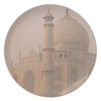 Taj Mahal, Agra, Uttar Pradesh, India 6 Plate