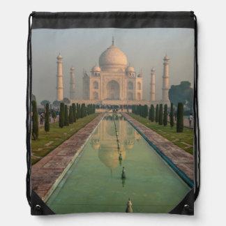 Taj Mahal, Agra, Uttar Pradesh, India Drawstring Bag