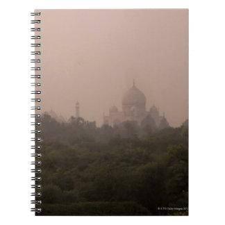 Taj Mahal, Agra, Uttar Pradesh, India Spiral Notebook