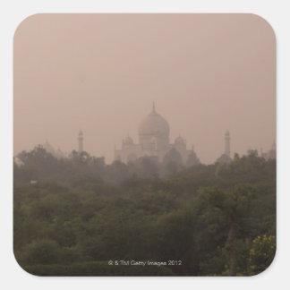 Taj Mahal, Agra, Uttar Pradesh, India Square Sticker