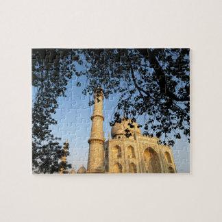 Taj Mahal  at sunrise. Agra, India 2008. Jigsaw Puzzle