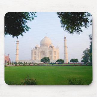 Taj Mahal at sunrise one of the wonders of the Mouse Mat