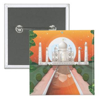 Taj Mahal Pins