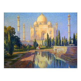 Taj Mahal by Cooper Postcard
