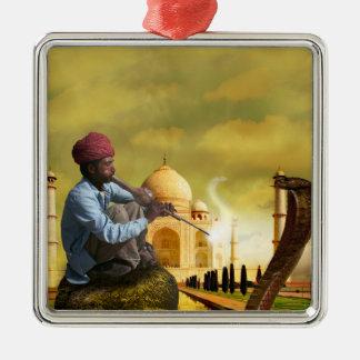 Taj Mahal Christmas Ornament