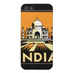taj mahal india art deco retro travel vintage iPhone 5 cases