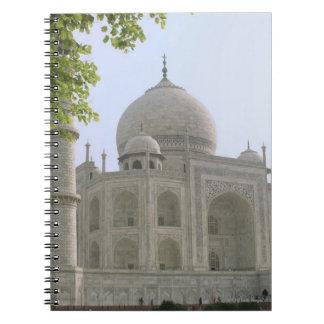 Taj Mahal, India Notebook