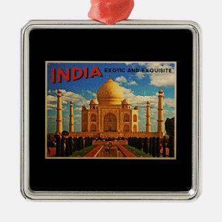 Taj Mahal India Vintage Christmas Ornament