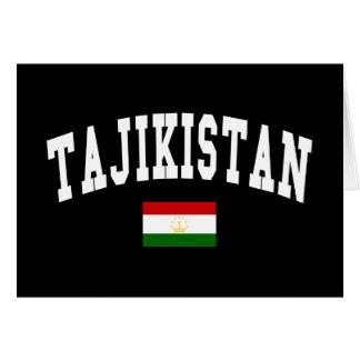 TAJIKISTAN GREETING CARD