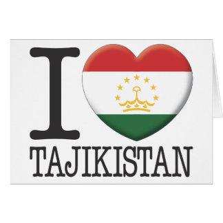 Tajikistan Cards