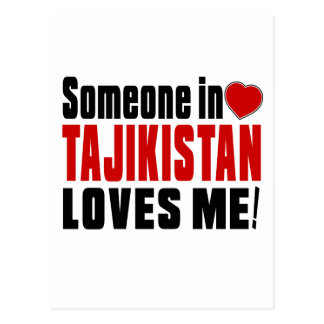 TAJIKISTAN Celebrating Years Of Being Awesome Postcard