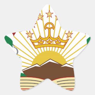 Tajikistan Coat of Arms Stickers