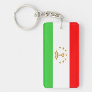 Tajikistan country flag nation symbol key ring