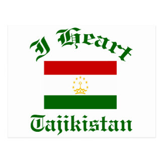 Tajikistan design post cards