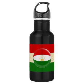 Tajikistan flag 532 ml water bottle