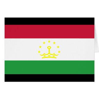 Tajikistan Flag Cards