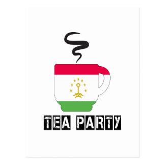Tajikistan Flag Designs Postcard