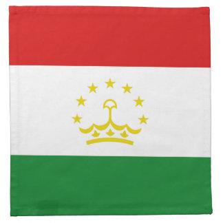 Tajikistan Flag Napkin